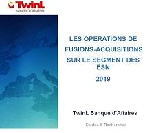 Etude des fusions & acquisitions 2019 sur le marché des ESN