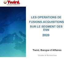 Etude des fusions & acquisitions 2020 sur le marché des ESN